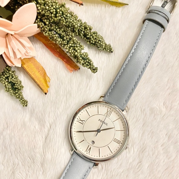 Fossil Jewelry - Fossil | Light Blue/Silver Watch